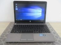 HP Probook 4340 Laptop i5-3230M, 8gb ram , 256gb SSD - Windows 10