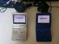 Gameboy advanced x2
