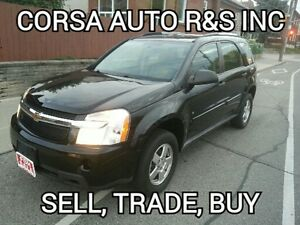 2008 Chevrolet Equinox LS SUV, certified,etested, don' miss out