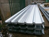 Heavy duty metal cladding and roofing sheets supply and fit