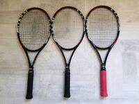 3 Mantis Pro 295 racquets.