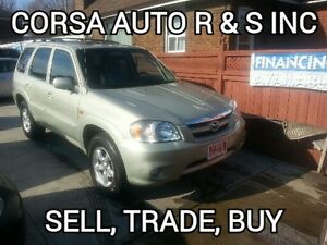 2005 Mazda Tribute 4x4 , (certified,etested)