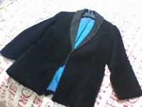 "JAEGER MENS DESIGNER BLAZER -SIZE: LARGE 44"" CHEST- VERY TRENDY & VGC COST £200"