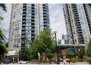 2bdr+2bthr+den+parking spot Near YALETOWN. best view