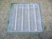Glass blocks bricks vintage retro