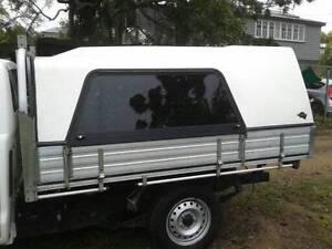 Single Cab drop side aluminium tray / canopy combo --Flexiglass Everton Park Brisbane North West Preview