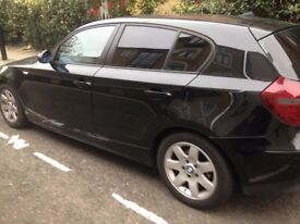 BMW 1 SERIES 116I BLACK FULL SERVICE HISTORY
