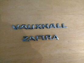 Vauxhall Zafira Badge