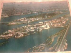 Expo 1967 de la ronde poster origine