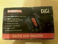 Datatool Digital Gear Indicator New Unused