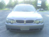 2002 BMW 7-Series 745I V8 4.4L GPS fully loaded Sedan