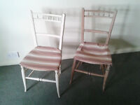 Pair of antique chairs for restoration