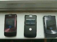 Motorola V3 and V3i