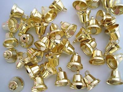 Jingle Bell Christmas/Bow/embellishment/ornament/bow M6-Gold (Jingle Bell Ornamenten)