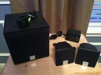 creative Inspire 2.1 2400 speaker system with subwoofer