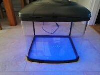 Fish Tank Aquarium 45 liters with Led light