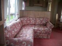 Static Caravan for Sale in North Norfolk, between Cromer and Sheringham. Cliff top location.