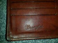 Genuine Wrangler leather mens wallet