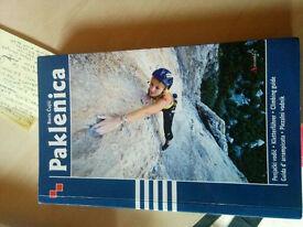 Croatia climbing guide book, Paklenica