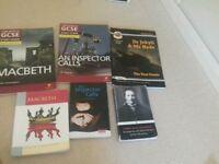 English GCSE 9-1 CGP revision guides