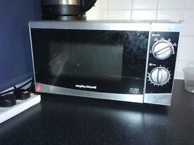 Morphy Richards MM82 Standard Microwave - Silver 800W 20L