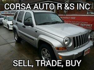 2005 Jeep Liberty Renegade, certified,etested.