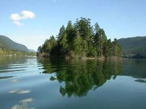 Private Island with Development Permit in place, Cowichan Lake.