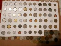 Bundle of world coins