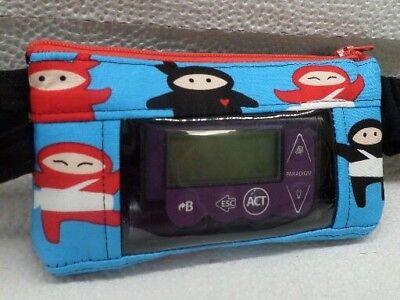 Ninja Insulin Pump Pouch Dexcom Case For Minimed Animas Type 1 Diabetes