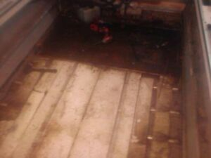 Floor and Transom Repairs