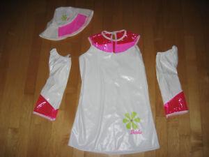 Très joli costume de Barbie pour fillette taille d'env. 4 ans