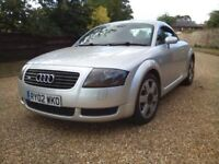 unmarked original audi tt 180 quattro 2002 mainly audi servicing receipts for near £5000