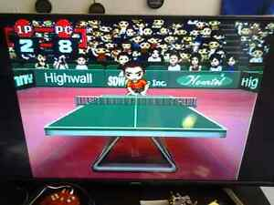 PING PONG ELECTRONIC TV VIDEO GAME 2 RACKETS
