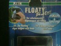 Aquarium JBL FLOATY BLADE XL fish tank algae cleaner