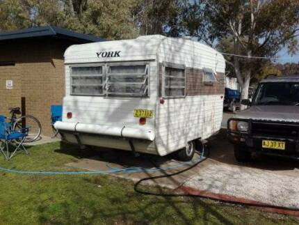 Retro York Caravan. Grays Point Sutherland Area Preview