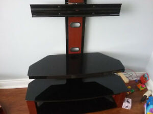 55 inch tv stand and shelf
