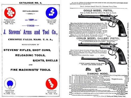 Stevens 1889 Arms & Tool Company Gun Catalog