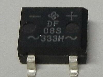 32 Stück SMD Gleichrichter DF08S 800V / 1,5A