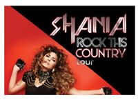 Shania Twain SOLD OUT shows in Edmonton June 11 or 12