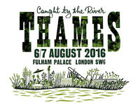 Caught by the River Thames tickets x 4 adults for Sat & Sun