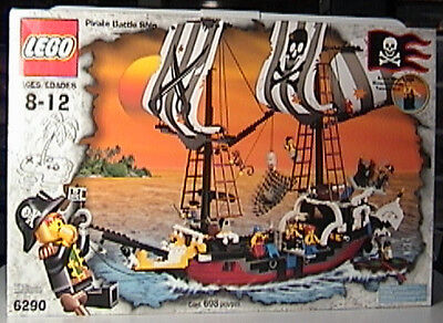 Lego Pirates 6290 Red Beard Runner New - Red Beard Pirate