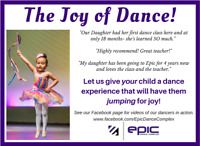 TODDLER DANCE CLASS - 2 1/2 to 3 1/2 YEARS