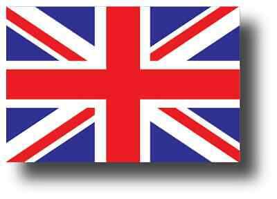 UNITED KINGDOM FLAG DECAL 3M STICKER Various SIZES BRITISH UNION JACK USA MADE (Jack Flag Stickers)