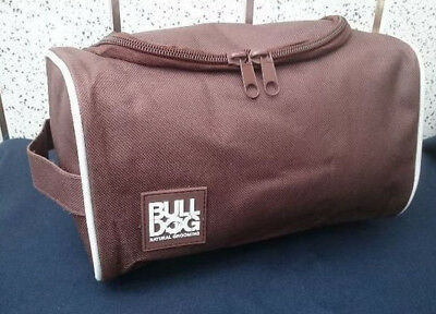Bull Dog Toiletry Bag Travel Overnight Wash Gym Shaving Bag For Men or Ladies