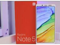 Brand new - Xiaomi Redmi Note 5 4GB/64GB Dual sim - Black/Blue