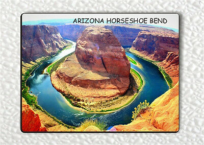 Souvenir From Arizona Horseshoe Bend  1 Fridge Magnet  Jkl7z