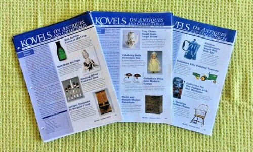 Kovels On Antiques And Collectibles Publication       15 Issues