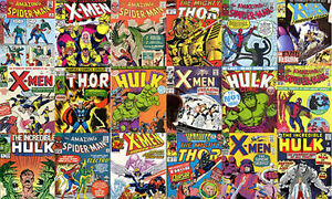 Comic Books Wanted Older Comics Marvel and DC Top Dollar Paid