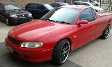 2002 Holden Commodore VU S PAC Red Manual Utility Narellan Camden Area Preview