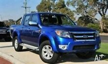 2011 Ford Ranger PK XLT Crew Cab Blue 5 Speed Automatic Utility Medindie Walkerville Area Preview